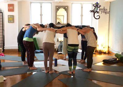Join Gecko Yoga - 200 hour teacher trainign places till available
